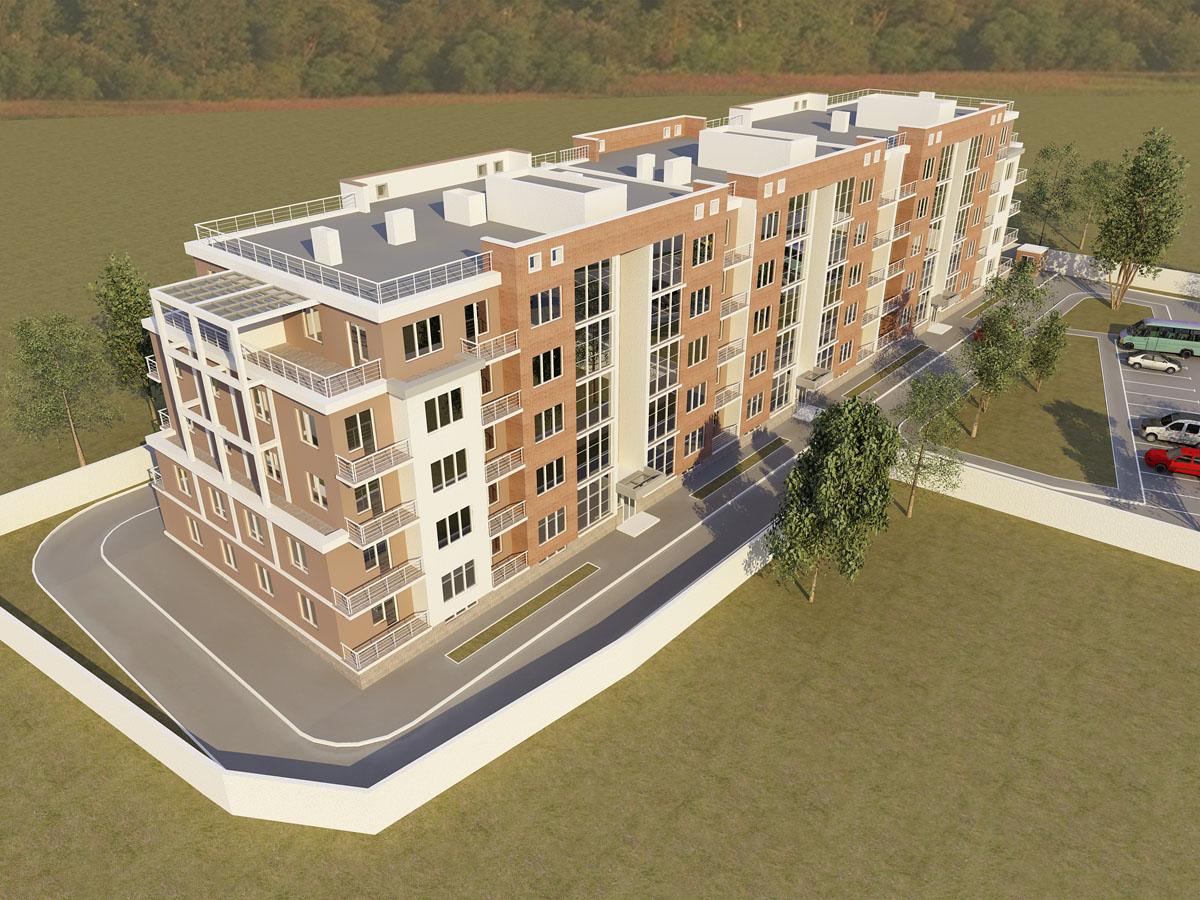 Пятиэтажный жилой дом на 80 квартир 6153 м.кв. - иван понома.